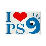 I Love PS9 Rectangle Magnet (10 pack)