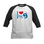 I Love PS9 Kids Baseball Jersey