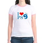 I Love PS9 Jr. Ringer T-Shirt