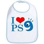 I Love PS9 Bib