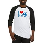 I Love PS9 Baseball Jersey