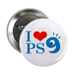 "I Love PS9 2.25"" Button (10 pack)"