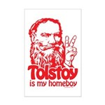 Tolstoy is My Homeboy Mini Poster Print