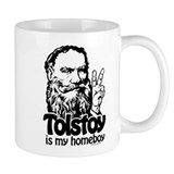 Tolstoy is My Homeboy Small Mug