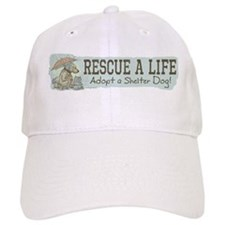 Adopt a Shelter Dog Baseball Cap