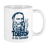 Tolstoy is My Homeboy Mug