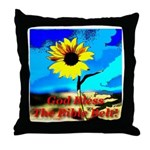 God Bless The Bible Belt! Throw Pillow