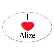 Alize Oval Decal