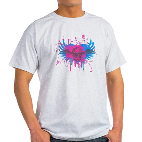 Splatter Skull Light T-Shirt