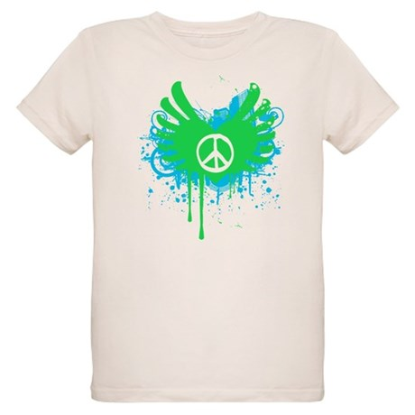 Peace and Love Organic Kids T-Shirt