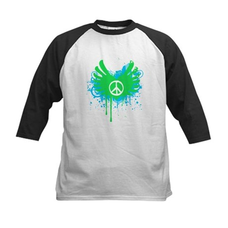 Peace and Love Kids Baseball Jersey
