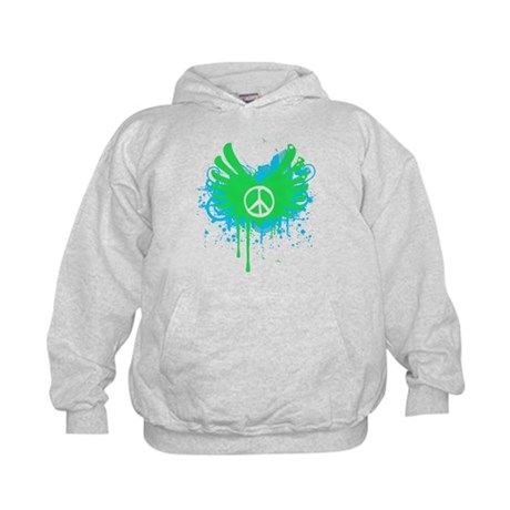 Peace and Love Kids Hoodie