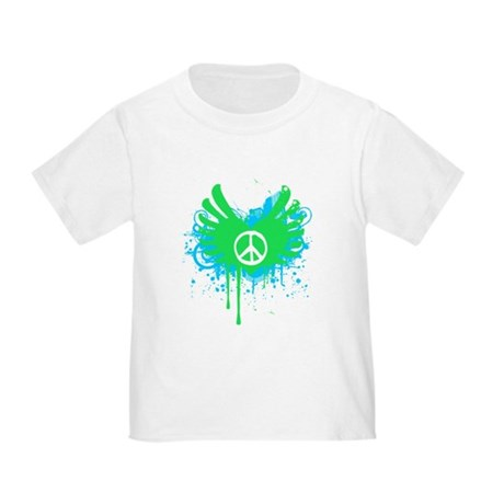 Peace and Love Toddler T-Shirt