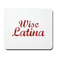 Wise Latina Sotomayor Mousepad