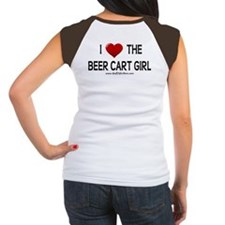 I Love The Beer Cart Girl Tee