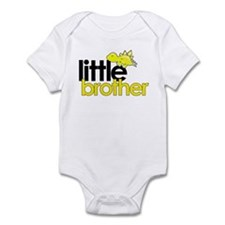 little brother t-shirt dinosaur Infant Bodysuit
