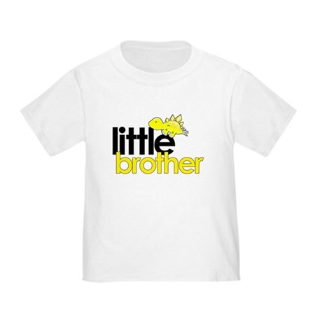little brother t-shirt dinosaur Toddler T-S