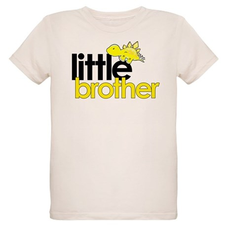 little brother t-shirt dinosaur Organic Kids T-Shi