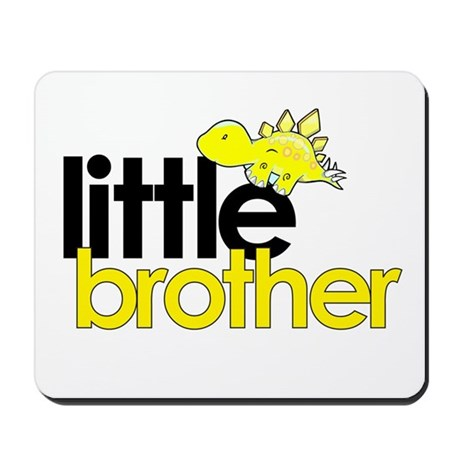 little brother t-shirt dinosaur Mousepad