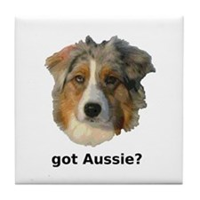 got Aussie? Tile Coaster