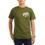 Crushed Can (Recycle!) Organic Men's T-Shirt (dark