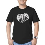 Crushed Can (Recycle!) Men's Fitted T-Shirt (dark)