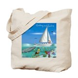 Drifting and Sailing Tote Bag