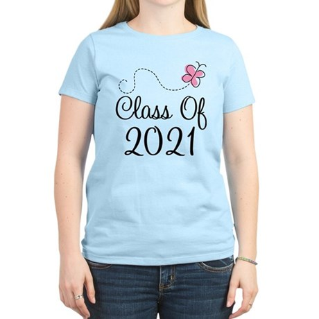 Sweet Pink Class Of 2021 Women's Light T-Shirt