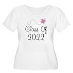 Sweet Pink Class Of 2022 Women's Plus Size Scoop N