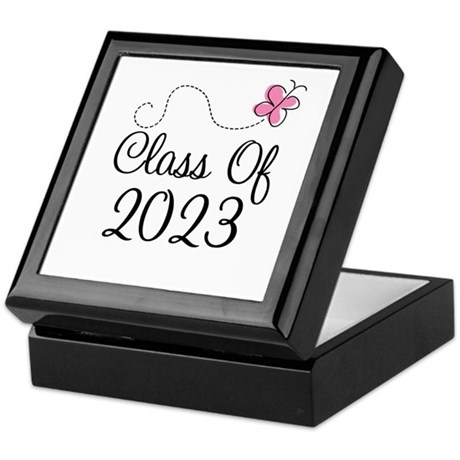 Sweet Pink Class Of 2023 Keepsake Box