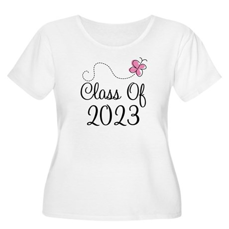Sweet Pink Class Of 2023 Women's Plus Size Scoop N
