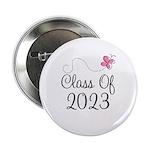 "Sweet Pink Class Of 2023 2.25"" Button"
