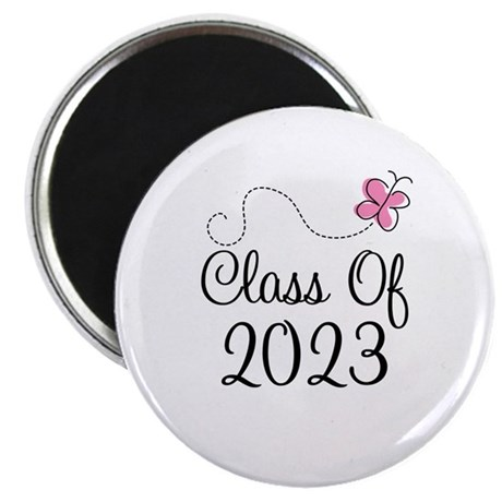 Sweet Pink Class Of 2023 Magnet