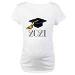 Classic 2021 Grad Maternity T-Shirt