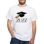 2022 Grad Hat White T-Shirt