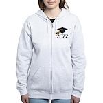2022 Grad Hat Women's Zip Hoodie