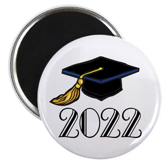 2022 Grad Hat Magnet