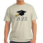 2023 Grad Hat Light T-Shirt