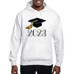 2023 Grad Hat Hooded Sweatshirt