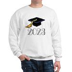 2023 Grad Hat Sweatshirt
