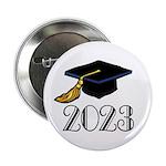 "2023 Grad Hat 2.25"" Button"
