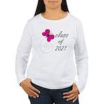 Sweet Class Of 2021 Women's Long Sleeve T-Shirt