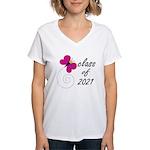 Sweet Class Of 2021 Women's V-Neck T-Shirt