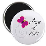 Sweet Class Of 2021 Magnet