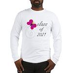Sweet Class Of 2021 Long Sleeve T-Shirt