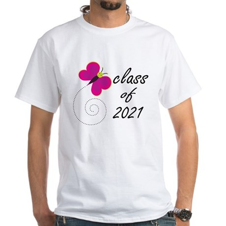 Sweet Class Of 2021 White T-Shirt