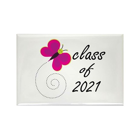 Sweet Class Of 2021 Rectangle Magnet