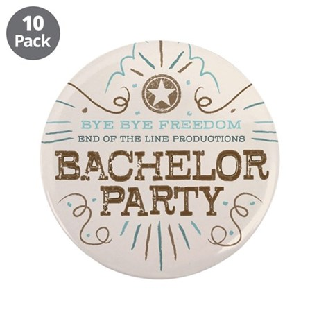 "End of Line Bachelor 3.5"" Button (10 pack)"