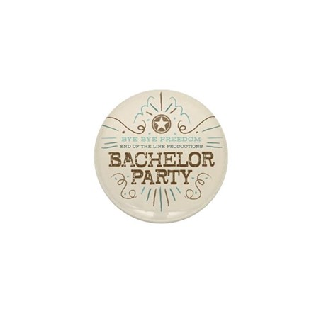 End of Line Bachelor Mini Button