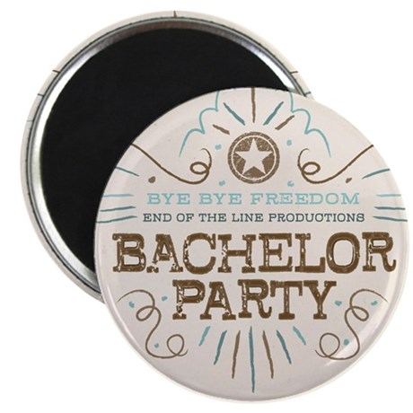 End of Line Bachelor Magnet